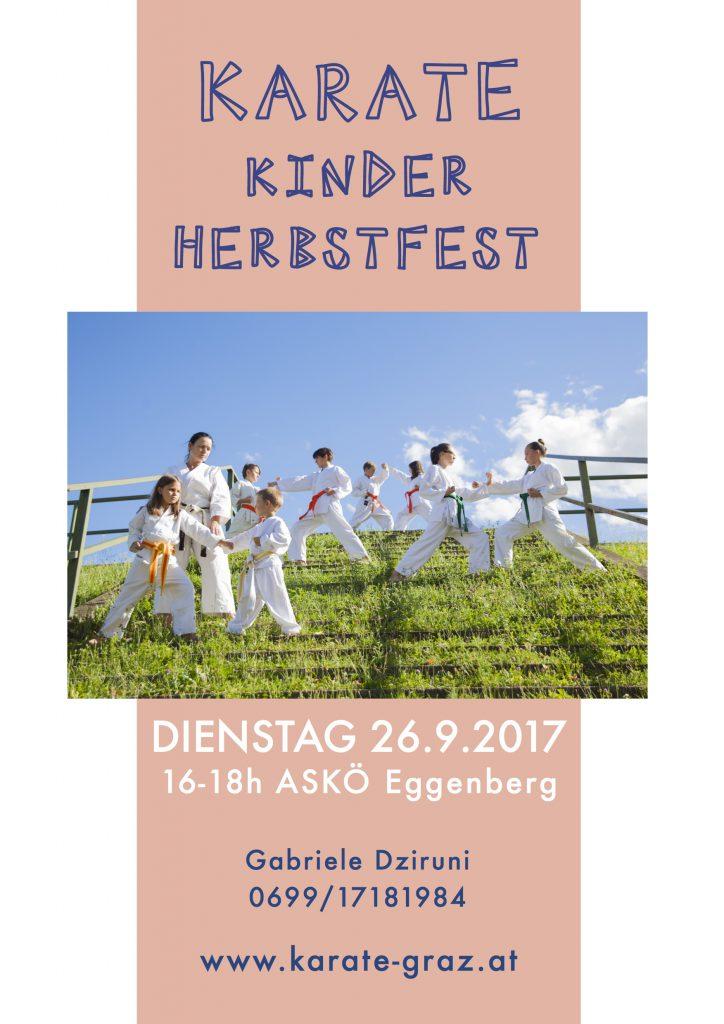 Zu den Veranstaltungsinfos zum Karate Kinder Herbstfest 2017