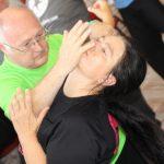 Gabriele mit Peter, Tai Chi Meister aus Ungarn