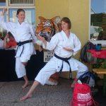 2016 07 Karate Neuhofen CuF mit Tiger